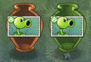 Peashooter Vases