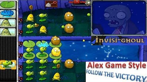 Plants vs. Zombies - Mini Games - Invisi Ghoul (Mini Game Pack 4 - Unlocked for 50,000 coins) Ep