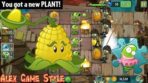 Plants vs. Zombies 2 (Chinese version) Got a New Plant Kernel-pult Pirate Seas Day 1 (Ep