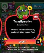 TransfigurationStats