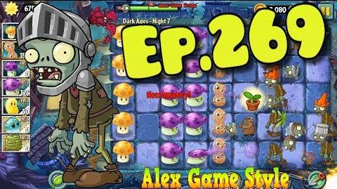 Plants vs. Zombies 2 New Knight Zombie - Dark Ages Night 7 (Ep