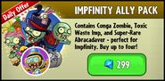 Impfinity Ally Pack