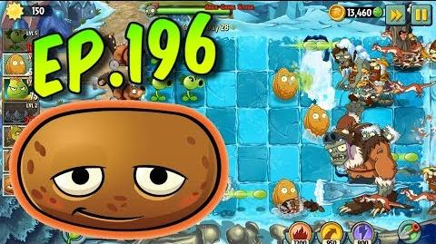 Plants vs. Zombies 2 Hot Potato and Repeater - Frostbite Caves Day 28 (Ep
