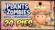 ALL 24 PIE LOCATIONS! (Sir Crustworthy) Plants vs Zombies Battle For Neighborville Food Fight
