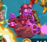 Hypnotized Zombie Fighter