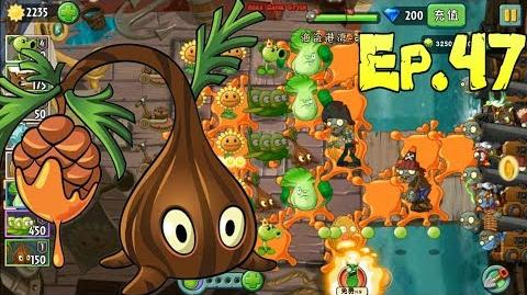 Plants vs. Zombies 2 (Chinese version) Unlocked 3 new Plants Pirate Seas Day 21 (Ep