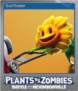 Steam BfN Sunflower Card Foil