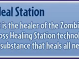 Zombie Heal Station