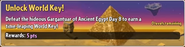 Unlock World Key! (Ancient Egypt)