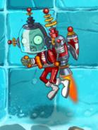 Blastronaut Zombie in Frostbite Caves