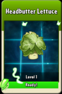 Headbutter Lettuce Level Up