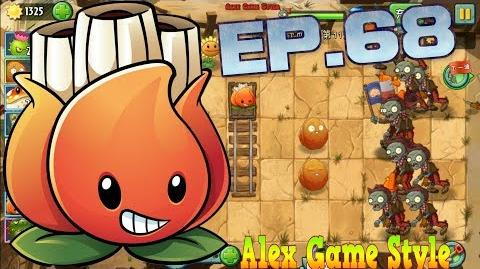 Plants vs. Zombies 2 (Chinese version) Unlocked new Plant A.K.E.E. Wild West Day 11 (Ep