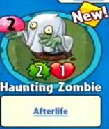 Receiving Haunting Zombie