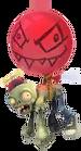 Balloon Zombie Unused design