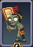 Flag Kungu-Fu Zombie Almanac Icon