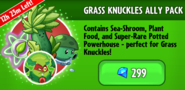 Grass Knuckles Pack