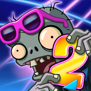 Plants Vs. Zombies™ 2 It's About Time Square Icon (Versions 3.9.1)