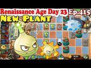 Plants vs. Zombies 2 (China) - New Alarm Arrowhead - Renaissance Age Day 23 (Ep