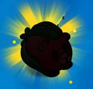 Hibernating Beary silhouette