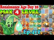 Plants vs. Zombies 2 (China) - Aloe level 4 - Renaissance Age Day 20 (Ep