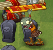Roman Shield Zombie Raise