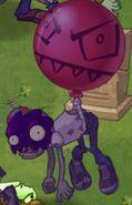 Zombi con globo Envenenado
