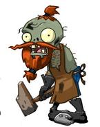 Concept Art of Blacksmith Zombie
