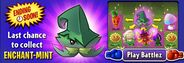Last Chance to get Enchant-mint (Main Menu)