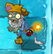 Prospector Zombie in Frostbite Caves