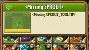 Sprout - Scrapped Plant - Plants vs