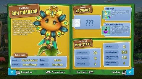 Sun Pharaoh (In-Game) 22 Plants vs Zombies Garden Warfare