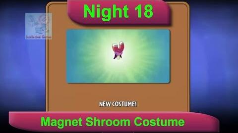 Dark Ages Night 18 MagnetShroom Costume Plants vs Zombies 2 Dark Ages Part 2