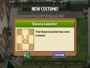 Getting Banana Costume