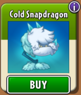 Cold Snapdragon Store New