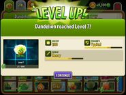 DandelionreachingLevel7