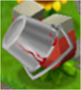 Magnet Plant Stealing A Bucket