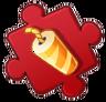 Small Firecracker Puzzle Piece