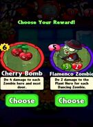 Choice between Cherry Bomb and Flamenco Zombie
