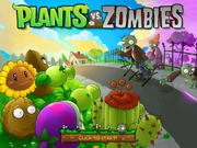 PvZ PC Modded Android titlescreen game