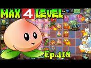 Plants vs. Zombies 2 (China) - Heavenly Peach level 4 (Ep