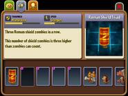 Unused Roman Shield Triad Almanac Entry