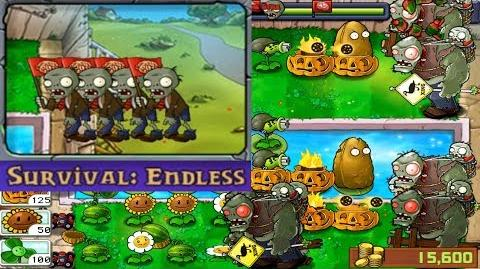 Plants vs. Zombies - Survival - Endless (Android Gameplay HD) Ep
