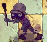 Poisoned Explorer Zombie