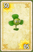 Blover Costume Card