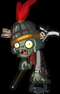 HD Terracotta Buckethead Zombie