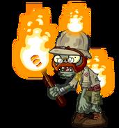 HD Torchlight Zombie