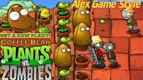 Plants vs. Zombies Adventure Got a Coffee Bean level 5-3 Roof (Android Gameplay HD) Ep