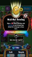 Wall-Nut Bowling statistics