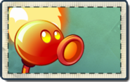 Fire Peashooter Seed Packet (PvZ 2)