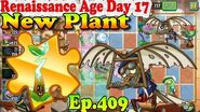 Plants vs. Zombies 2 (China) - New Electrici-tea New Leaper Zombie - Renaissance Age Day 17 (Ep